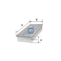 Воздушный фильтр (UFI) 3009000