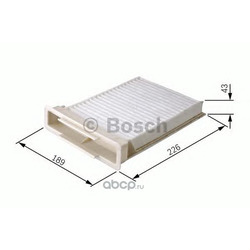 Фильтр, воздух во внутреннем пространстве (Bosch) 1987432120