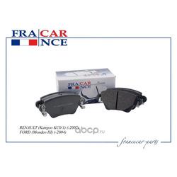 Колодка дискового тормоза зад (Francecar) FCR30B040