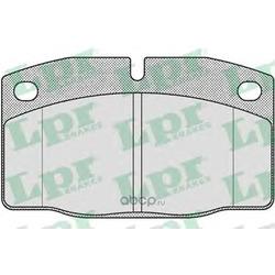 Комплект тормозных колодок, дисковый тормоз (Lpr) 05P190