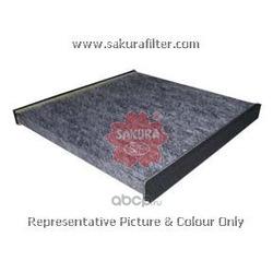 Фильтр салона угольный (Sakura) CAC1101