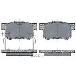Колодки торм.RR (SCT) SP168