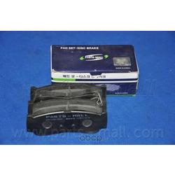 Комплект тормозных колодок (Parts-Mall) PKA032