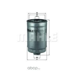 Топливный фильтр (Mahle/Knecht) KC181