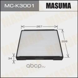 Фильтр салонный (Masuma) MCK3001
