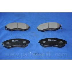 Комплект тормозных колодок (Parts-Mall) PKA002