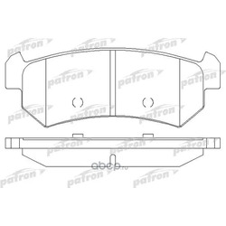 Колодки тормозные дисковые задние (PATRON) PBP1889