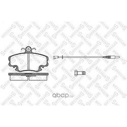 Комплект тормозных колодок, дисковый тормоз (Stellox) 152002SX