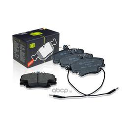 Колодки тормозные дисковые (Trialli) PF095101