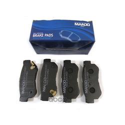 Комплект тормозных колодок, дисковый тормоз (Mando) MPH18
