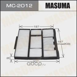 Фильтр салона (Masuma) MC2012