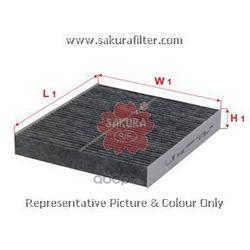 Фильтр салона угольный (Sakura) CAC1801