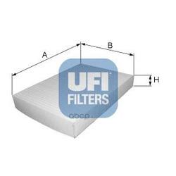 Фильтр, воздух во внутренном пространстве (UFI) 5303900