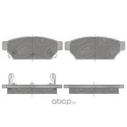 Колодки торм.RR (SCT) SP652