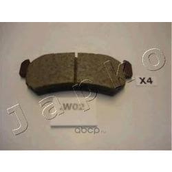 Комплект тормозных колодок, дисковый тормоз (JAPKO) 51W02