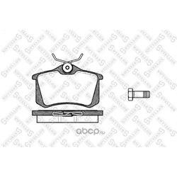 Комплект тормозных колодок (Stellox) 274010BSX