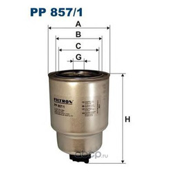 Фильтр топливный Filtron (Filtron) PP8571