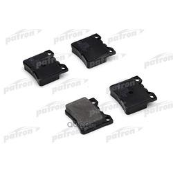 Колодки тормозные дисковые задн PEUGEOT: 406 95-04, 406 Break 96-04, 406 купе 97-04, 605 89-99 (PATRON) PBP1415