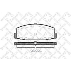 Комплект тормозных колодок (Stellox) 190030BSX