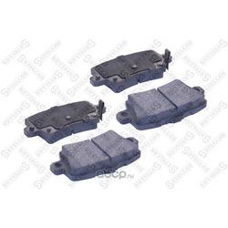 Комплект тормозных колодок (Stellox) 000076BSX