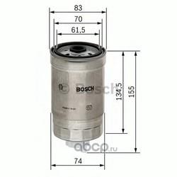 Топливный фильтр (Bosch) 1457434105