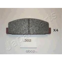 Комплект тормозных колодок, дисковый тормоз (Japanparts) PP302AF
