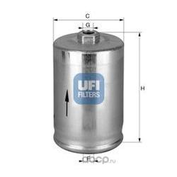 Топливный фильтр (UFI) 3174800