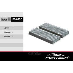Фильтр салонный угольный (Fortech) FS032C