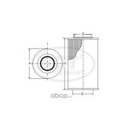 Топливный фильтр (SCT) SC7043P