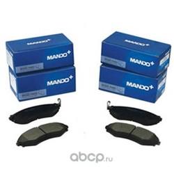 Комплект тормозных колодок, дисковый тормоз (Mando) MPH35