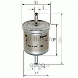 Топливный фильтр (Bosch) 0450905324