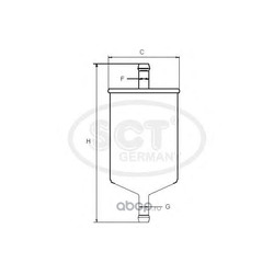 Топливный фильтр (SCT) ST379