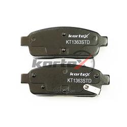 Колодки торм. CHEVROLET CRUZE 09- R16 задниек-т (KORTEX) KT1363STD