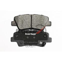 Колодки тормозные, задние (KORTEX) KT1401STD