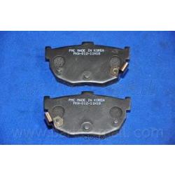 Комплект тормозных колодок (Parts-Mall) PKA012