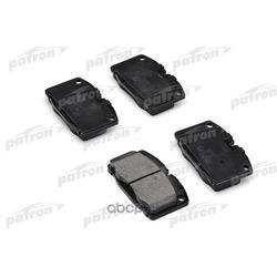 Колодки тормозные, комплект, передние (PATRON) PBP173