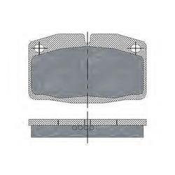 Колодки торм.FR (SCT) SP105
