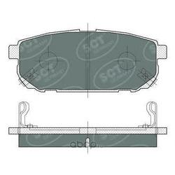 Колодки торм.RR (SCT) SP372