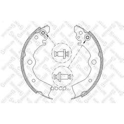 Комплект тормозных колодок (Stellox) 404100SX