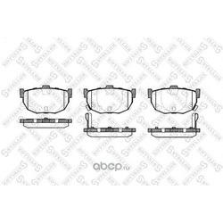 Комплект тормозных колодок (Stellox) 305022SX