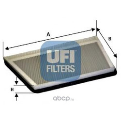 Фильтр, воздух во внутренном пространстве (UFI) 5419400
