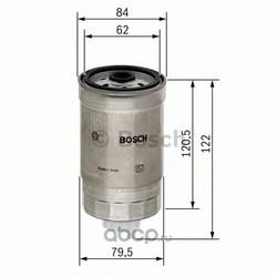 Топливный фильтр (Bosch) 1457434435