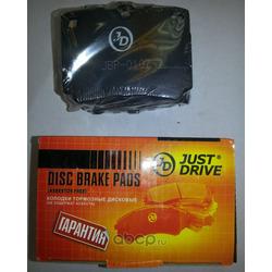 Колодки тормозные, задние D6086MH (Just Drive) JBP0107