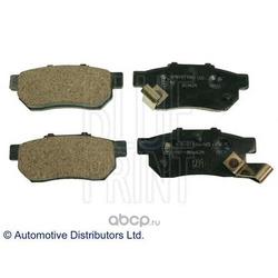 Комплект тормозных колодок, дисковый тормоз (Blue Print) ADH24254