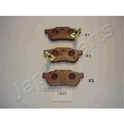 Колодки тормозные дисковые задние, комплект (Japanparts) PP404AF