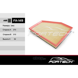 Фильтр воздушный (Fortech) FA149