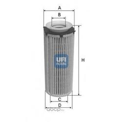 Масляный фильтр (UFI) 2509600