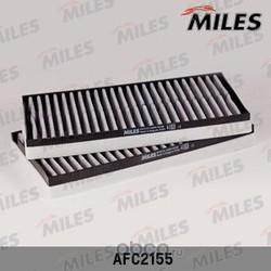 Фильтр салона BMW E60 угольный (упак.2шт.) (Miles) AFC2155