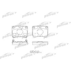 Колодки тормозные дисковые передн KIA: PRIDE 90-, PRIDE универсал 99-, MAZDA: 121 I 87-90 (PATRON) PBP597