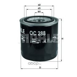 Масляный фильтр (Mahle/Knecht) OC288